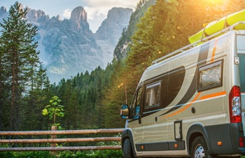 Campervan travel in Europe